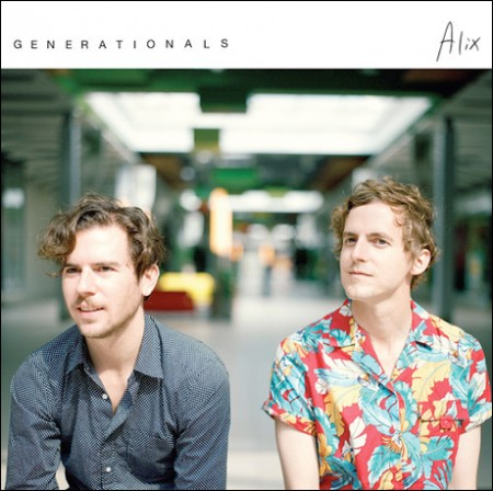 Generationals - Alix - artwork